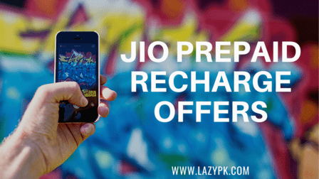 Jio Prepaid Recharge Offers